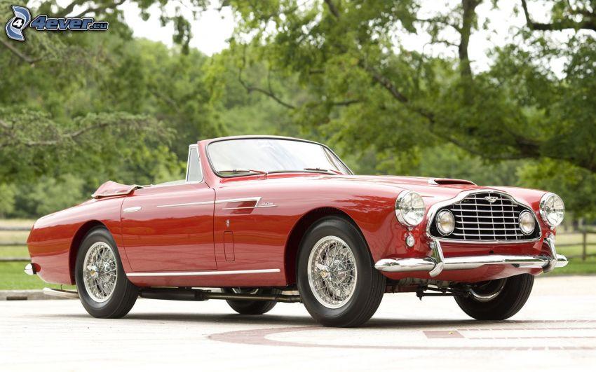 Aston Martin, kabriolet, weteran