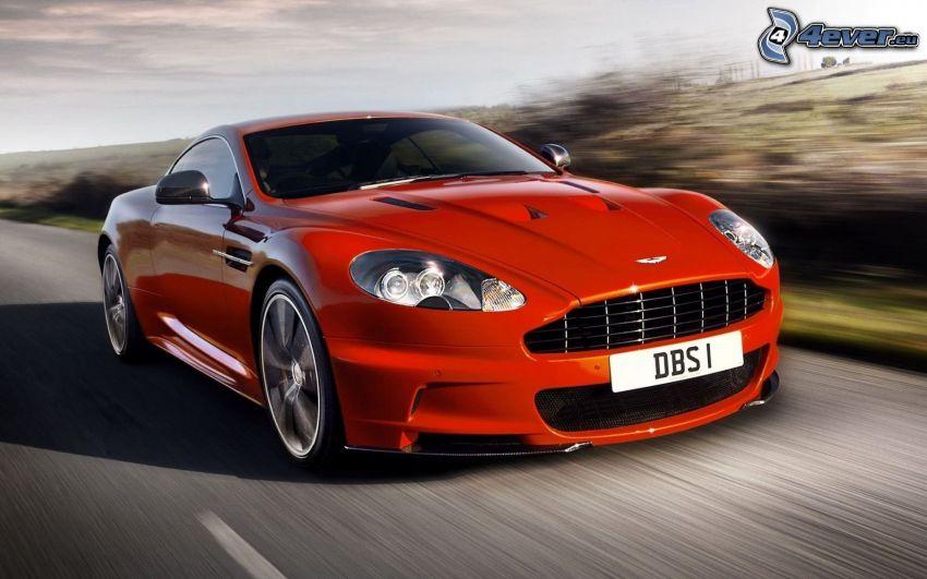 Aston Martin, prędkość