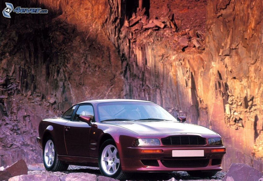 Aston Martin, weteran, skała