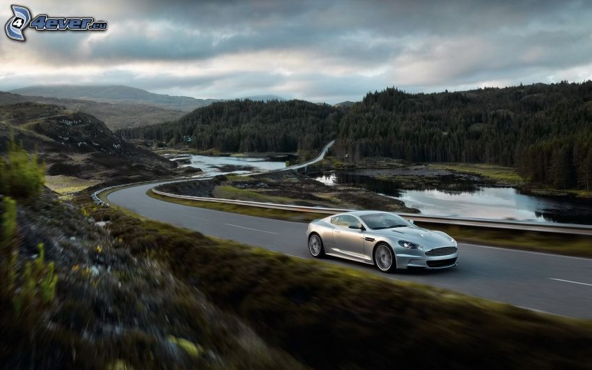Aston Martin DBS, krajobraz