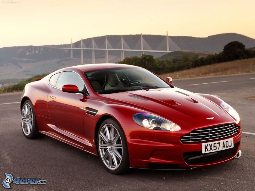Aston Martin DBS, Wiadukt Millau