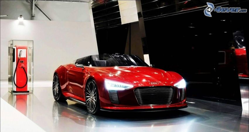 Audi A3, kabriolet, sportowe auto