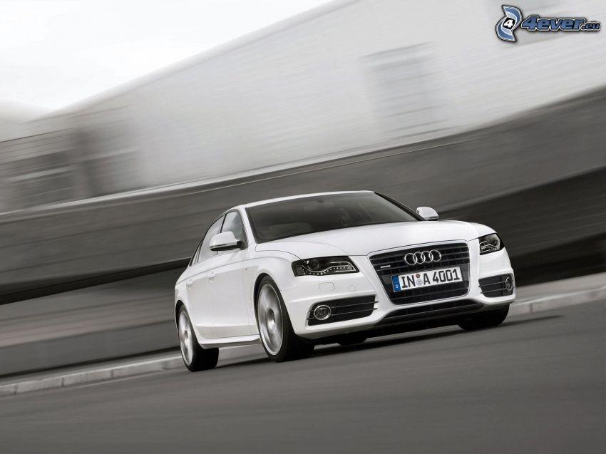 Audi A4, prędkość