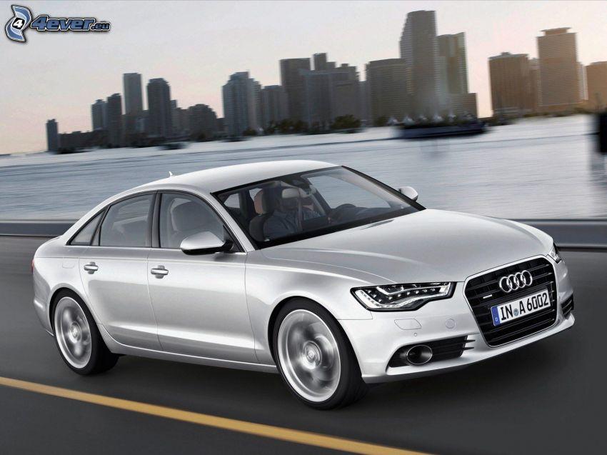 Audi A6, wieżowce