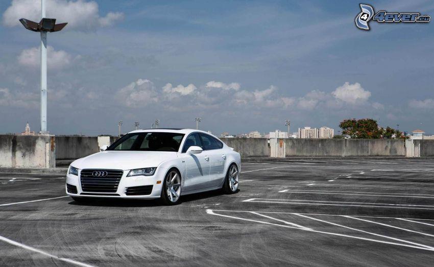 Audi A7, parking