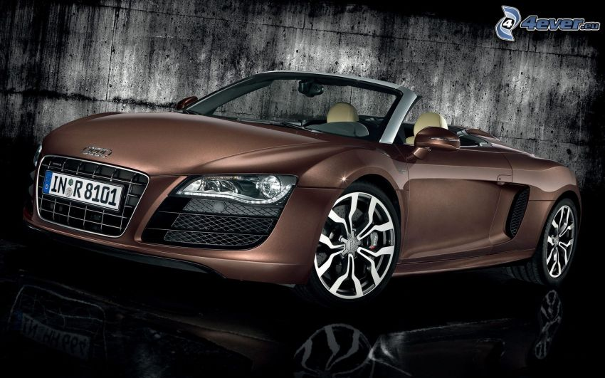 Audi R8, kabriolet