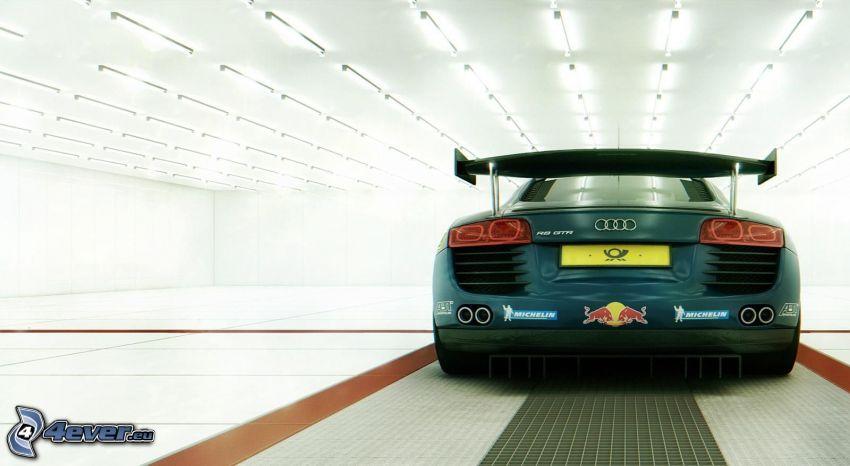 Audi R8, sportowe auto