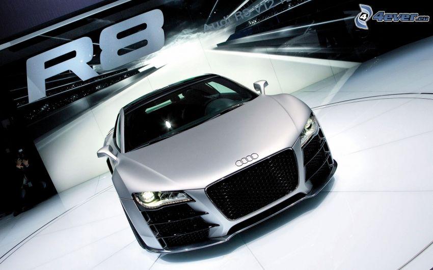 Audi R8, wystawa