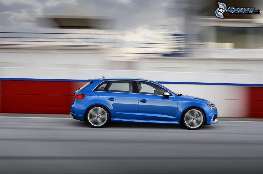 Audi RS3, prędkość