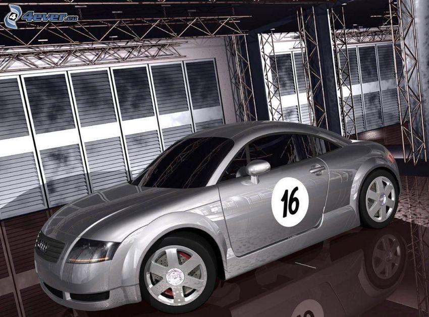 Audi TT, wystawa