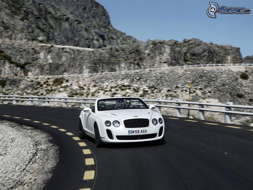 Bentley Continental, kabriolet, ulica