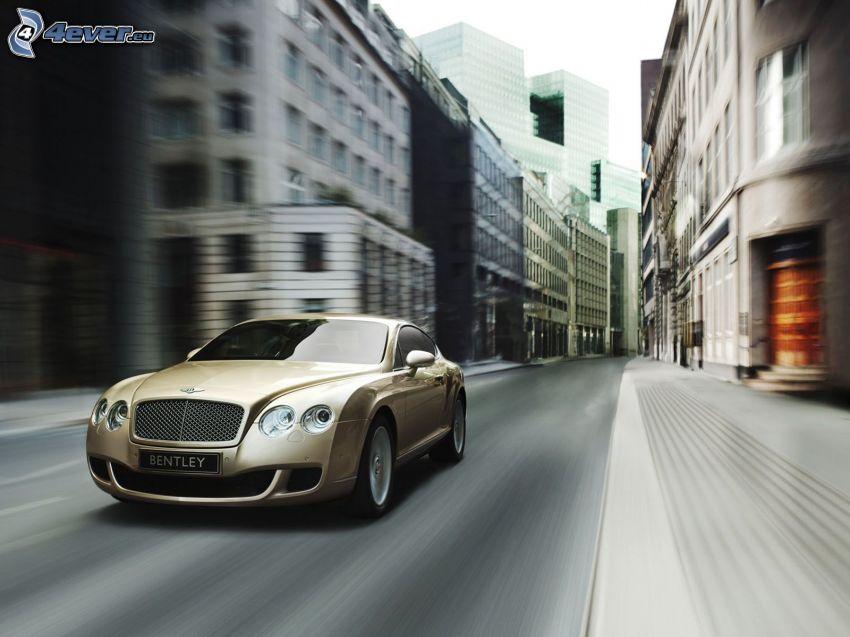 Bentley Continental, prędkość