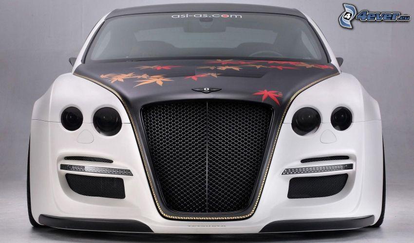 Bentley Continental GT, przednia maska