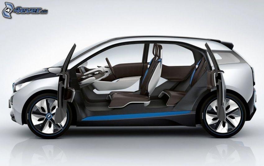 BMW i3, wnętrze BMW i3