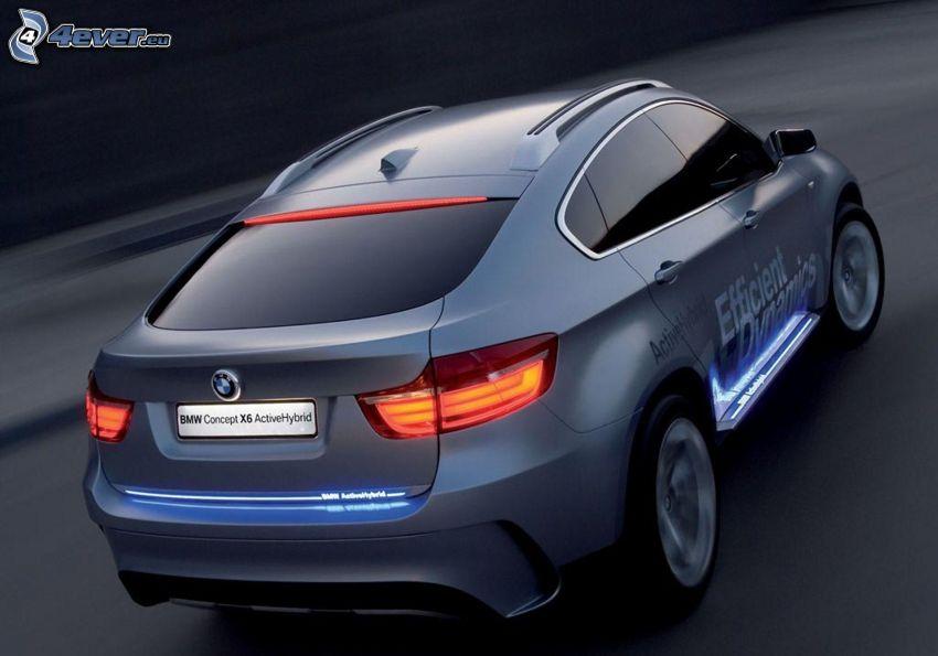 BMW X6, prędkość