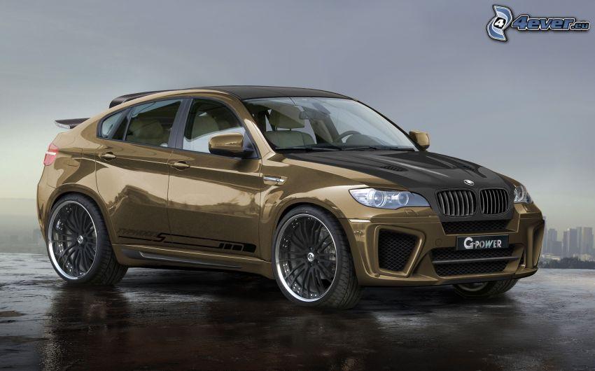 BMW X6, virtual tuning