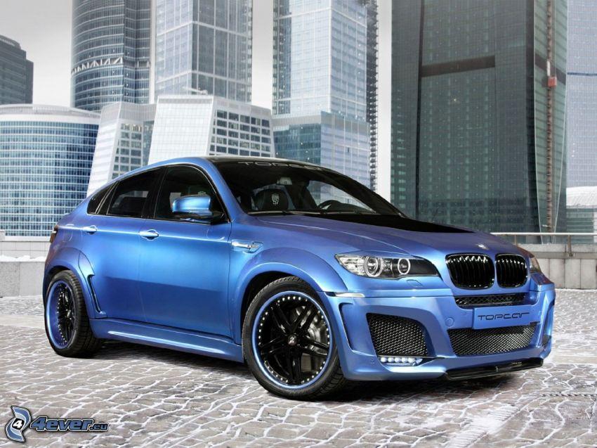BMW X6, wieżowce