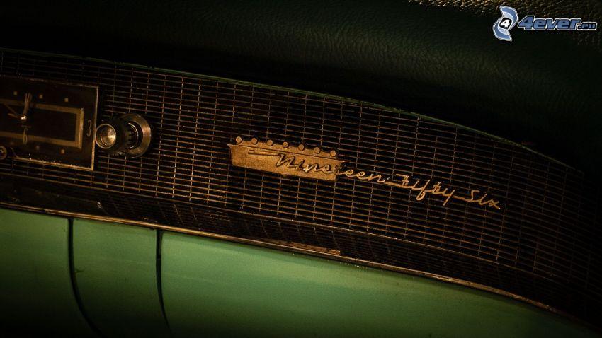 Cadillac, weteran, radio