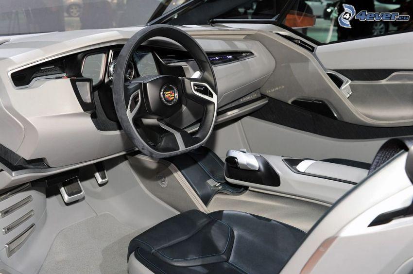 Cadillac Urban Luxury, wnętrze