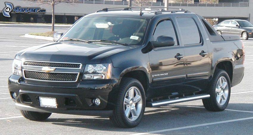 Chevrolet Avalanche, parking