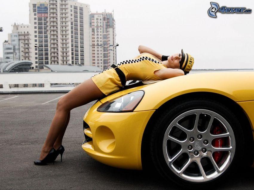 Dodge Viper, taksówkarka