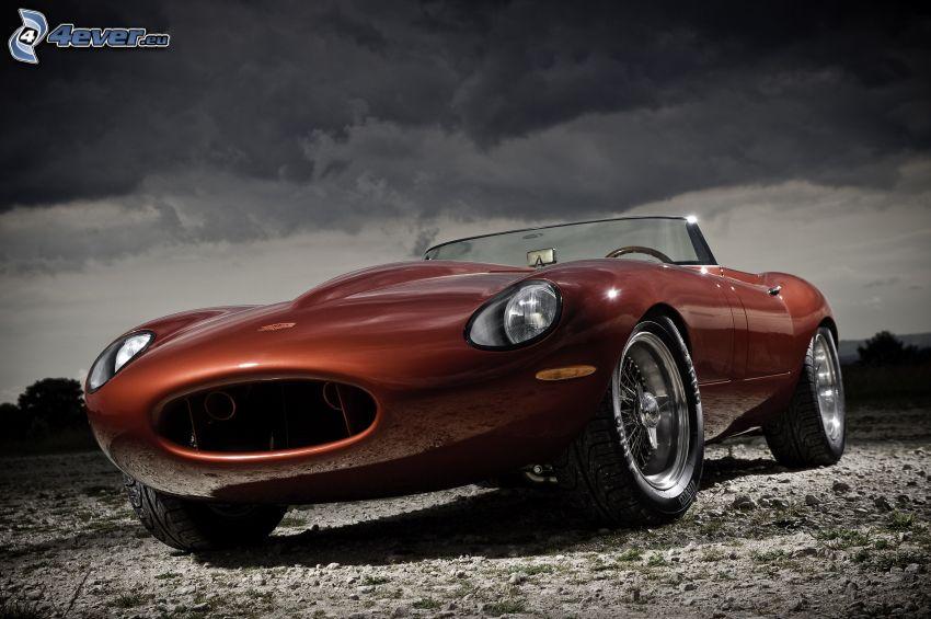 Eagle Speedster, kabriolet, ciemne chmury