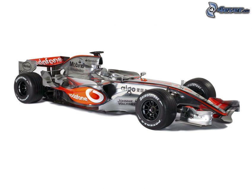 F1 McLaren Mercedes, formuła, Monoposto