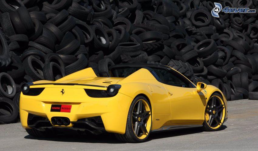 Ferrari 458 Italia, opony