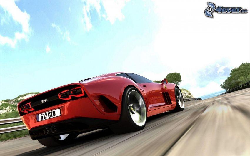 Ferrari 612 GTO, prędkość