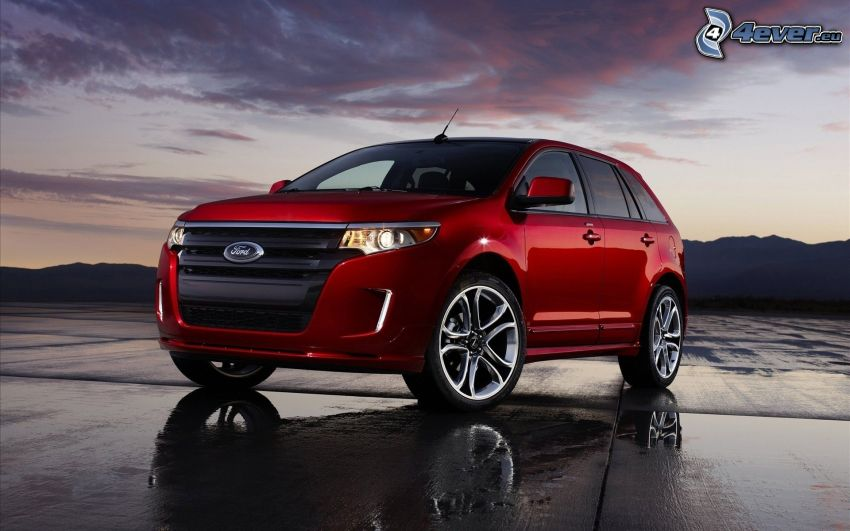 Ford Edge, niebo o zmroku