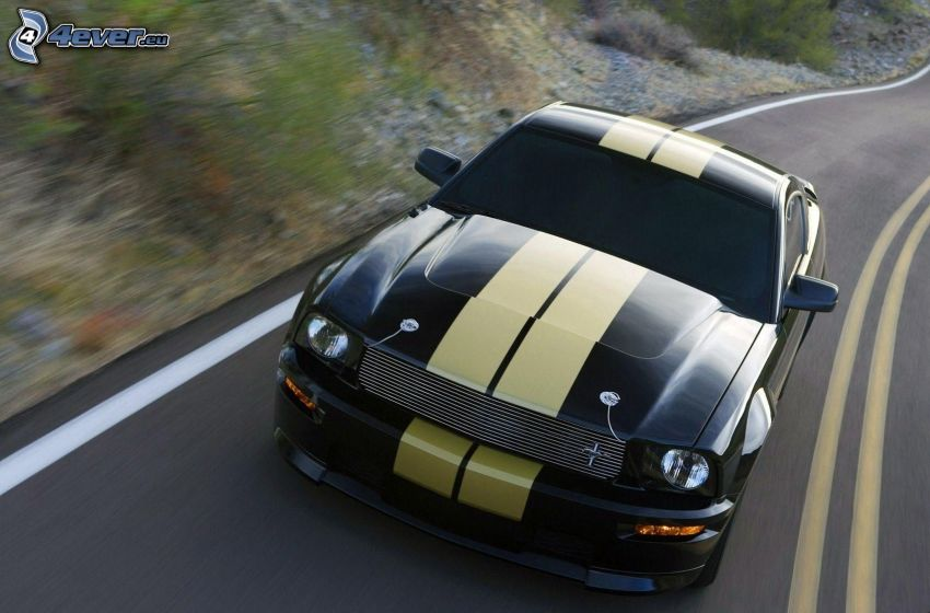 Ford Mustang, ulica