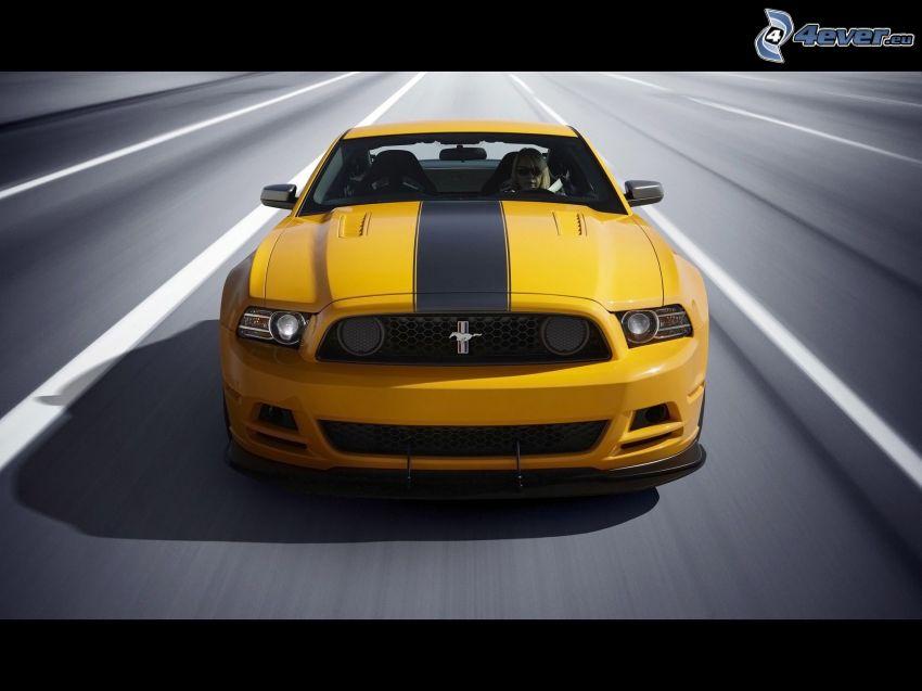 Ford Mustang Boss 302, prędkość