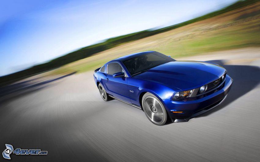 Ford Mustang GT, prędkość