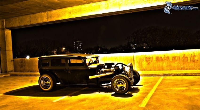 Hot Rod, weteran, parking