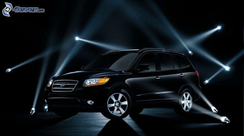 Hyundai Santa Fe, światła