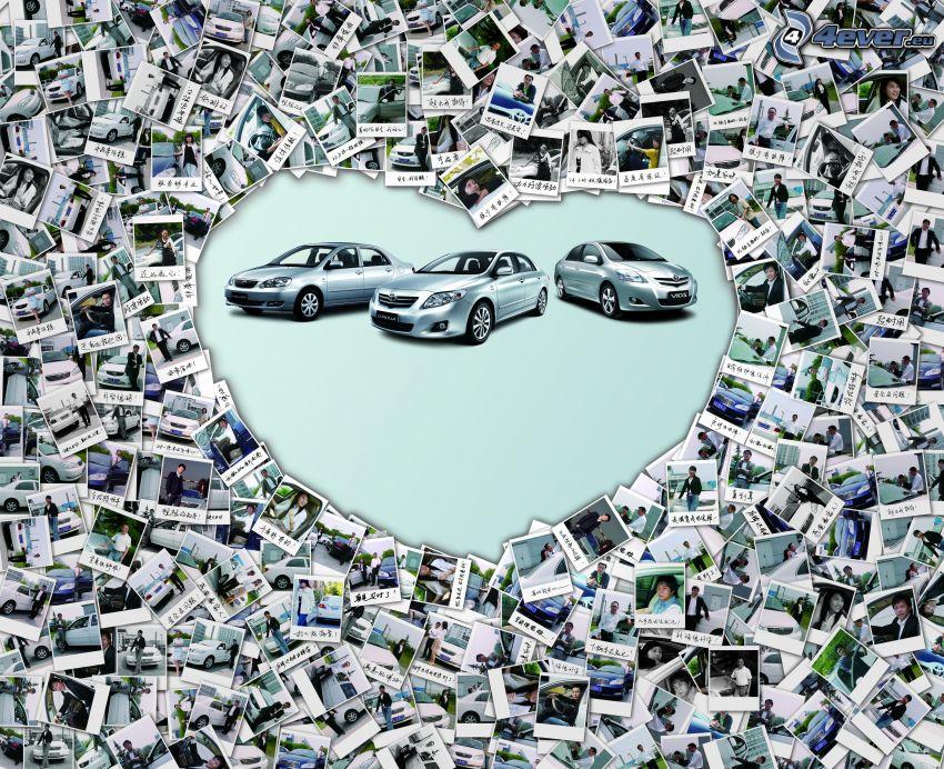 I love Toyota, serduszko, Zdjęcia