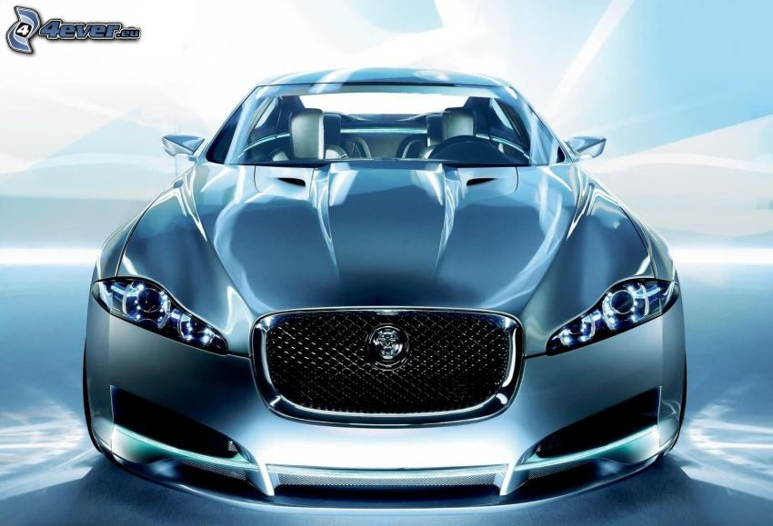 Jaguar, przednia maska