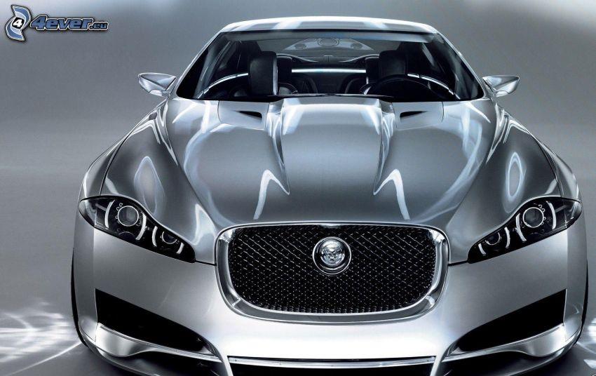 Jaguar F-type, przednia maska