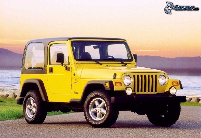 Jeep Wrangler, jezioro