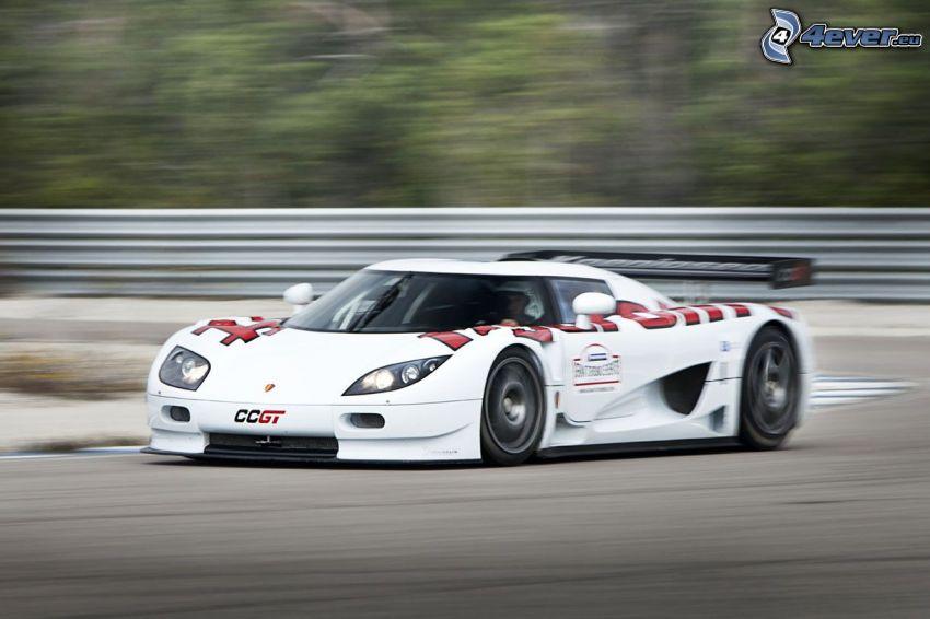 Koenigsegg CCGT, prędkość