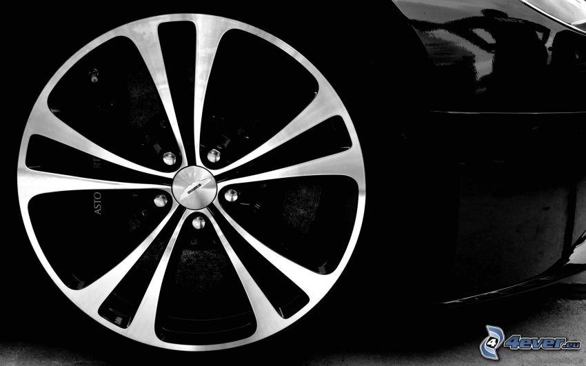 koło, Aston Martin