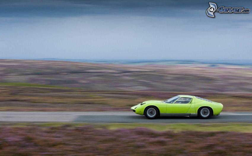 Lamborghini Miura, weteran, prędkość