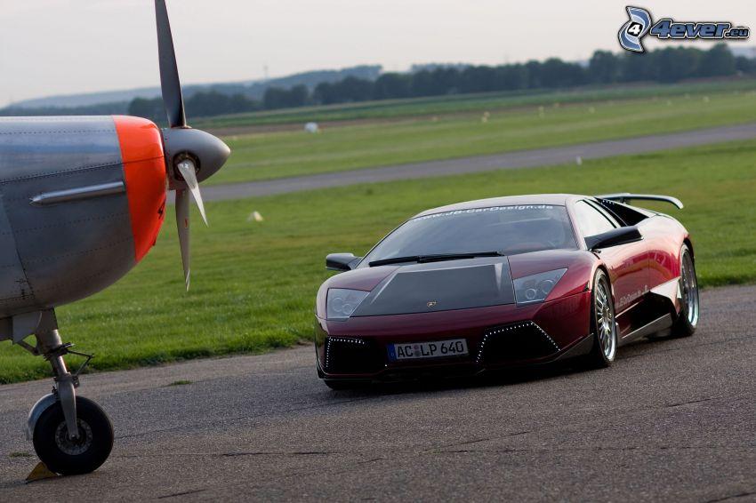 Lamborghini Murciélago, śmigło