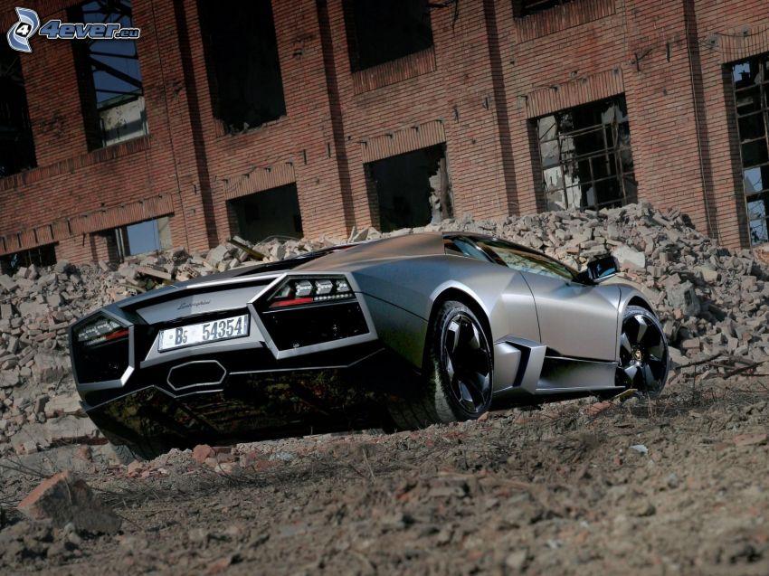 Lamborghini Reventón, stara budowla