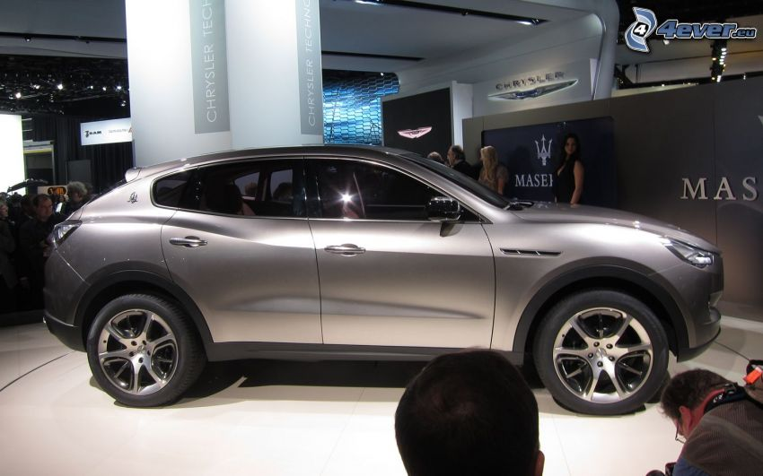 Maserati Kubang, wystawa, autosalon