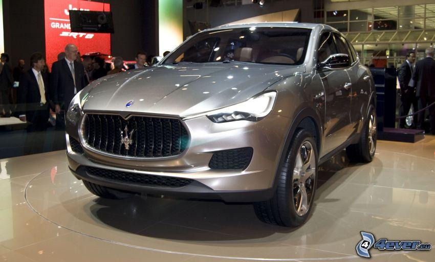 Maserati Levante, wystawa, autosalon