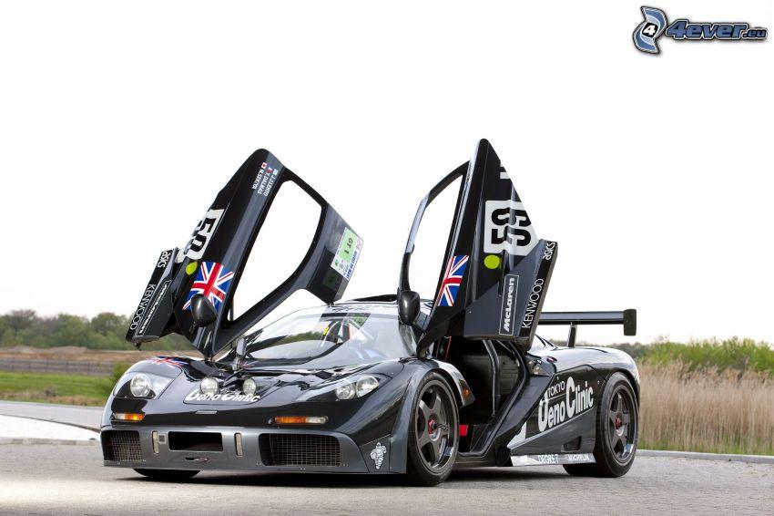 McLaren F1, drzwi