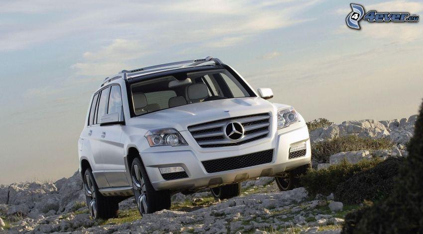 Mercedes-Benz, skały