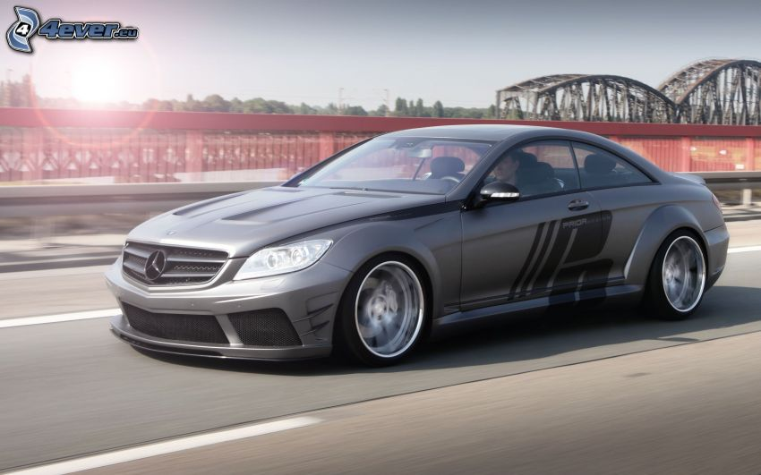 Mercedes-Benz CLS, prędkość