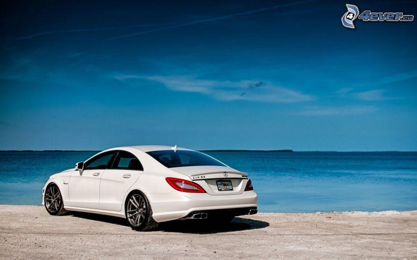 Mercedes CLS 63 AMG, morze